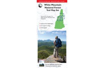 Amc White Mtn Map Set 3rd, Appalachian Mtn. Club, Publisher - Globe Pequot Press