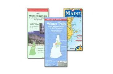 Amc Winter Trails White Mtns, Appalachian Mtn Club, Publisher - Globe Pequot Press
