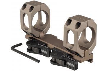 6-American Defense Recon-sl 30mm Q.d. Scope Mount No Offset Low