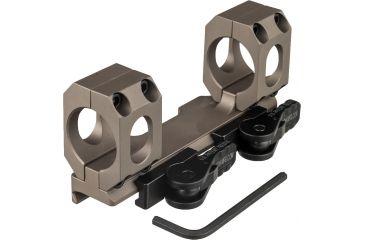 7-American Defense Recon-sl 30mm Q.d. Scope Mount No Offset Low