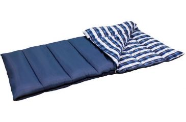 American Trails Navajo Sleeping Bag, Navy, 39x80 3ML2501Z