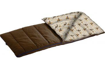 American Trails Pendleton 5 Sleeping Bag, Brown, 39x80 3BF2501ZW