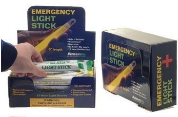 Ameriglo AML30CD 6'' Green/Yellow 8 Hour Light Stick Display/30 Count