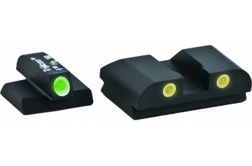 Ameriglo Complete Night Sight Set Classic Style Green Front Yellow Rear For Fnp 40 Fn 604