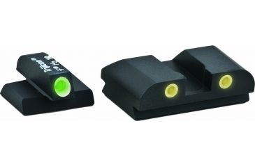 Ameriglo Complete Night Sight Set Classic Style Green Front Yellow Rear For Fnp 9mm Fn 602