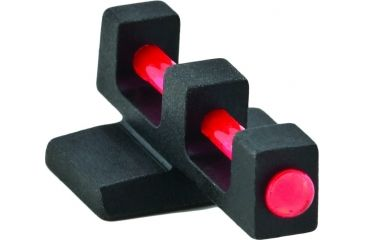 Ameriglo Fiberrod Sights Red Fiber Optic Front Only Fnp 9mm 230 Height Fn 230 Rf