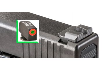 Ameriglo Night Sight Set, Spec. Combo, Hack - Green/Orange Front, Serr. Black Rear - Glocks 20/21 GL-434