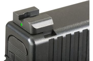 Ameriglo Night Sights - Classic Style - Green REAR Only - .272 inch Height, Fits Glocks 20,21,29,30,31,32,36 GL-119R