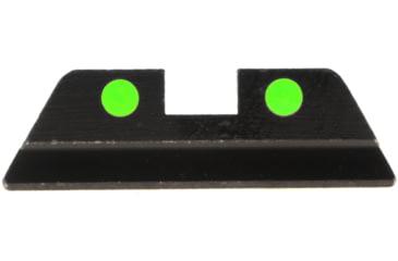 Ameriglo Painted Dot Night Sights - REAR Sight Only - Green LumiDot, .272 Height, Fits Glocks 20,21,29,30,31,32,36 GG-419R