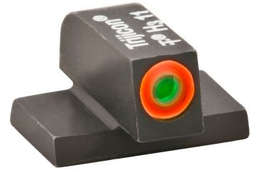 AmeriGlo Tritium Front Sig tritium Front Sight Green w/ Orange Outline .220in. Height #8 SG-212-220