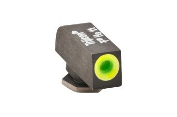 AmeriGlo Tritium Front All Glock Models .200in. Height, std. .140in. wide, Pro Glo Front Sight, limeGreen Circle Outline GL-212-200-GR-C