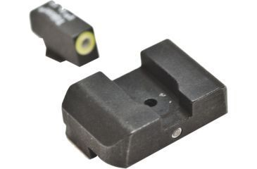 AmeriGlo Tritium Night Sights, Glock 20/21 Pro i-Dot set GRN / Lime Outline ProGlo Front with single GRN Rear GL-303