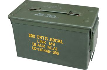 Ammodor The 50 Ammo Can Cigar Humidor with Tray, Premium