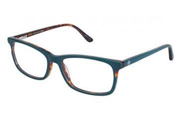 192a8b1698be Ann Taylor AT324 Eyeglass Frames - Frame TEAL TORTOISE