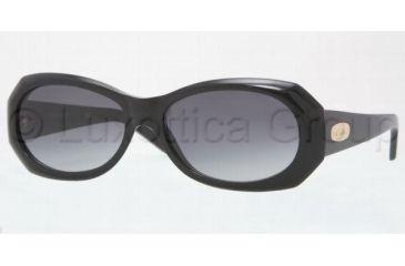 Anne Klein AK3162 Single Vision Prescription Sunglasses AK3162-201-77-5816 - Frame Color: Black, Lens Diameter: 58 mm