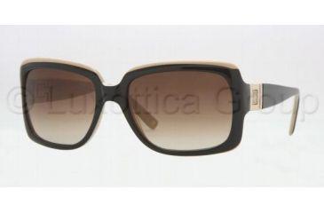 a153a850f9 Anne Klein AK3165 SV Prescription Sunglasses Black Camel Frame   54 mm  Prescription Lenses