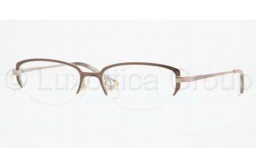 Anne Klein AK 9115 AK9115 Progressive Prescription Eyeglasses 554-5016 - Brown/Taupe