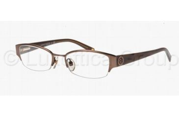 Anne Klein AK 9122 AK9122 Eyeglass Frames 563S-4918 - Satin Brown