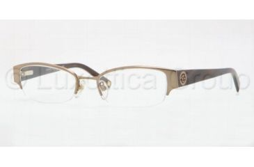 Anne Klein AK 9122 AK9122 Eyeglass Frames 574S-4918 - Satin Light Brown