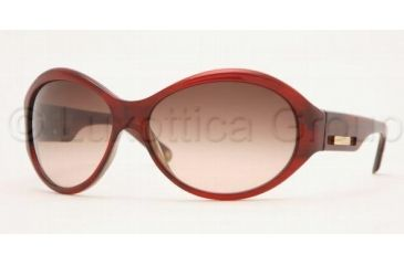 Anne Klein AK3118 Sunglasses 226/08-6314 - Burgundy/Horn Brown Gradient