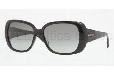 Anne Klein AK 3169 AK3169 Single Vision Prescription Sunglasses AK3169-201-81-5715 - Lens Diameter: 57 mm, Frame Color: Black