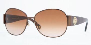 Anne Klein AK4131 #371/74 - Satin Brown Frame, Brown Gradient Lenses