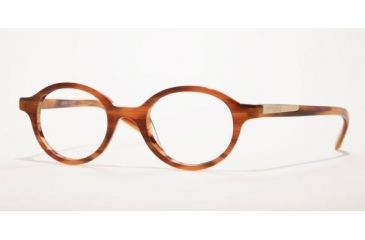 Anne Klein AK8077-147-4218 Eyeglasses with No-Line Progressive Rx Prescription Lenses 42 mm Lense Diameter / Black Frame