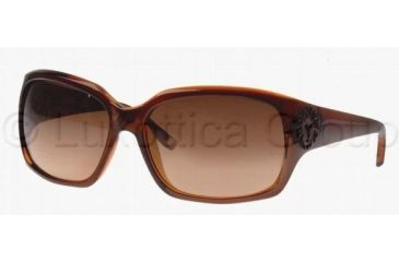 Anne Klein AK3149 Single Vision Prescription Sunglasses AK3149-908-63-6016 - Frame Color: Brown, Lens Diameter: 60 mm