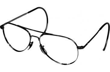 Ao Flight Gear General Series Sunglasses Frame No Lens Black Comfort Cable 52mm Lens B Cc 52