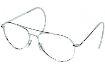 Ao Flight Gear General Series Sunglasses Frame No Lens Silver Comfort Cable 58mm Lens S Cc 58