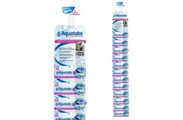 Aquatabs Water Purification Tablets 30 Pack, Clip Strip, NO AQ52200CS