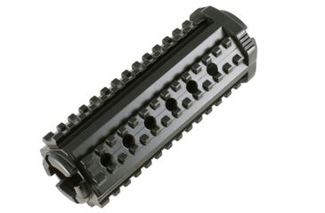 MFT AR15/M16 4 Sided Rail - Aluminum M-4 Carbine, Black M44SM