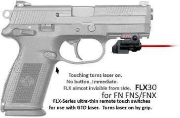 Armalaser Gto Flx Red Laser Sight For Fnh Gto Flx30 Up To
