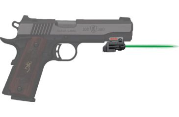 1-ArmaLaser GTOG/FLX84 Laser Sight for Browning 380 1911 - Green Beam