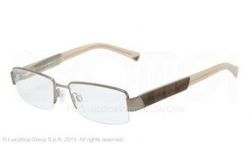 Armani EA1001 Eyeglass Frames 3003-52 - Matte Gunmetal Frame
