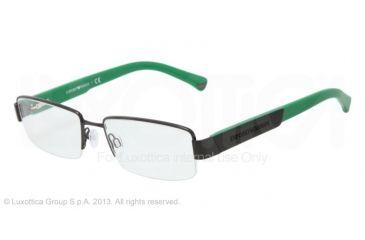 Armani EA1001 Eyeglass Frames 3014-52 - Black Frame