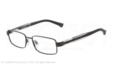 Armani EA1002 Eyeglass Frames 3014-51 - Black Frame