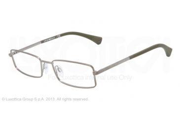 Armani EA1003 Eyeglass Frames 3003-52 - Matte Gunmetal Frame