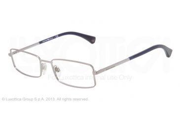Armani EA1003 Eyeglass Frames 3010-52 - Gunmetal Frame