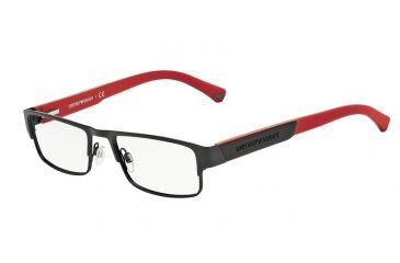 4e0545fb4ba Armani EA1005 Eyeglass Frames 3001-54 - Matte Black Frame