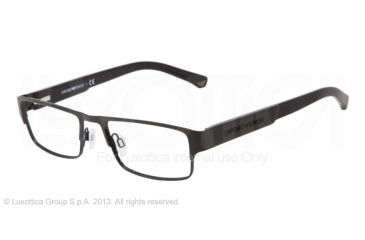 Armani EA1005 Single Vision Prescription Eyeglasses 3008-52 - Black Frame