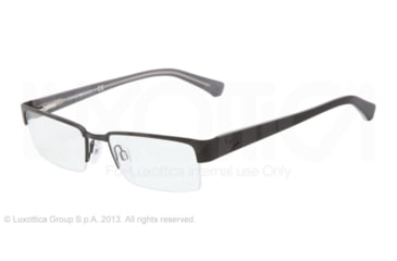 Armani EA1006 Bifocal Prescription Eyeglasses 3001-51 - Matte Black Frame