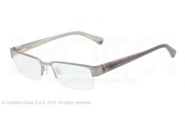 Armani EA1006 Bifocal Prescription Eyeglasses 3010-51 - Gunmetal Frame