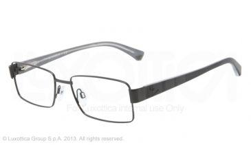 Armani EA1011 Bifocal Prescription Eyeglasses 3001-54 - Matte Black Frame