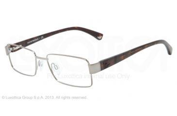 Armani EA1011 Bifocal Prescription Eyeglasses 3010-52 - Gunmetal Frame