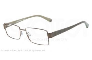 Armani EA1011 Bifocal Prescription Eyeglasses 3017-52 - Matte Green Frame