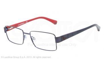 Armani EA1011 Bifocal Prescription Eyeglasses 3019-54 - Blue Frame