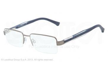 Armani EA1012 Bifocal Prescription Eyeglasses 3003-52 - Matte Gunmetal Frame
