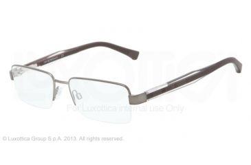 Armani EA1012 Bifocal Prescription Eyeglasses 3035-52 - Matte Gunmetal Frame