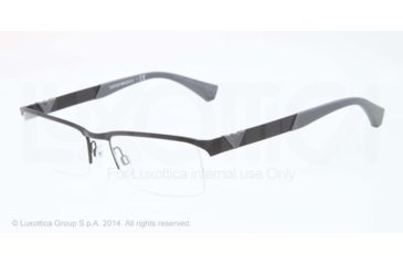 Armani EA1014 Bifocal Prescription Eyeglasses 3051-53 - Matte Black Frame